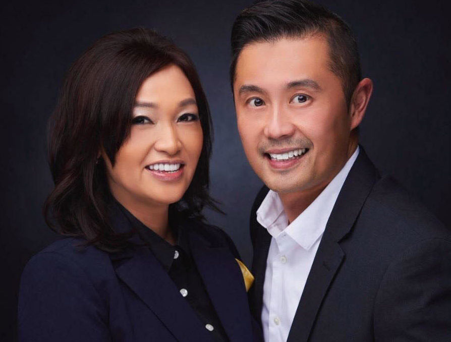Louie Luk and Shirley Chau of Good Luk Team Real Estate Specialists
