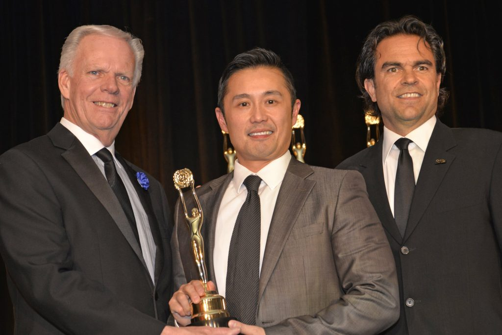 Louie Luk winning real estate double centurion award